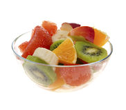 Fresh fruits salad Royalty Free Stock Photo
