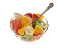 Fresh fruits salad Stock Photo