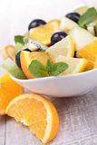Fresh fruits salad Royalty Free Stock Photo