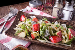 Fresh fruits salad Stock Photo