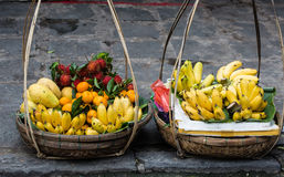 Fresh fruits for sale Royalty Free Stock Photography