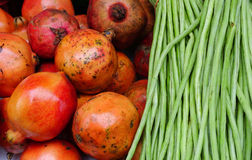 Fresh fruits for sale Royalty Free Stock Photos