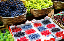 Fresh Fruits. For sale in market royalty free stock image