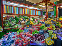 Fresh fruits on sale Royalty Free Stock Photography