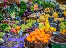 Fresh fruits on sale Stock Photo