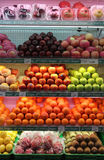 Fresh fruits are sold in supermarkets solo Central Java Indonesia. A variety of fresh fruits supplied supermarket to meet the needs of the surrounding Royalty Free Stock Photo