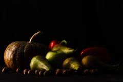 Fresh fruits on the table Stock Photos