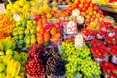 The fresh fruits Stock Image