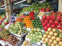 Fresh Fruits, Tropical. Fresh Tropical and Colorful fruits Royalty Free Stock Photography