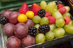Fresh Fruits in Vancouver's Grandville Island Market Royalty Free Stock Photography
