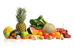 Fresh Fruits and Vegatables Royalty Free Stock Photo