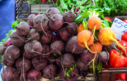 Fresh fruits and vegetables for sale Royalty Free Stock Image
