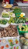 Local fruits and vegetables for sale at the public market in Ormoc City, Leyte, Philippines