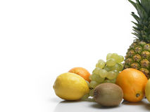 Fresh fruits / vitamins Royalty Free Stock Images