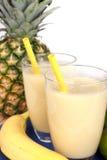 Fresh fruity milkshake Stock Photo