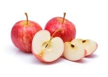 Fresh gala apples Royalty Free Stock Photo