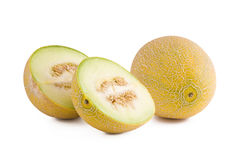 Fresh gali melon Stock Image
