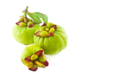 Fresh Garcinia Royalty Free Stock Photos