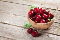 Fresh garden cherry Royalty Free Stock Image