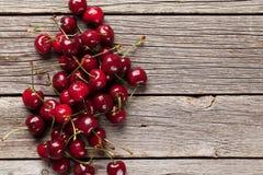 Fresh garden cherry Royalty Free Stock Photos