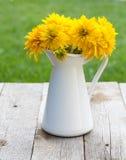 Fresh garden flower bouquet Stock Photo