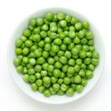 Fresh garden peas Stock Photo