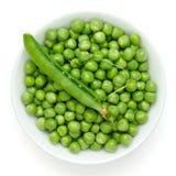 Fresh garden peas Stock Photos