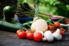 Fresh garden produce Royalty Free Stock Photos