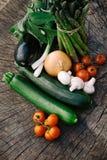 Fresh garden produce Stock Photography