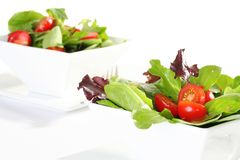 Fresh garden salad Royalty Free Stock Photos