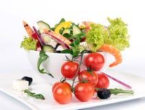 Fresh garden salad Royalty Free Stock Photos