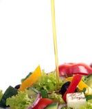 Fresh garden salad Stock Photography