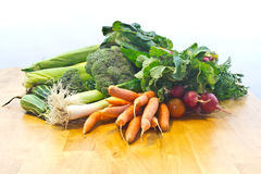 Fresh Garden Vegetables Stock Photo