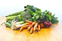 Fresh Garden Vegetables Stock Photo