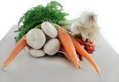 Fresh garden vegetables Royalty Free Stock Photos