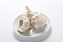 Fresh Garlic Royalty Free Stock Photos