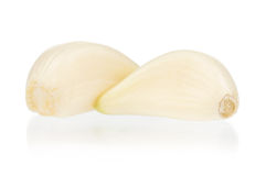 Fresh garlic Royalty Free Stock Photo