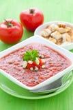 Fresh gazpacho Royalty Free Stock Images