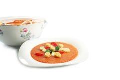 Fresh gazpacho Royalty Free Stock Image