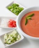 Fresh gazpacho Royalty Free Stock Photos