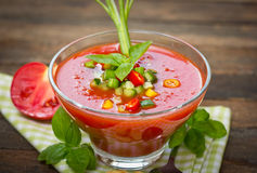 Fresh gazpacho Stock Photo