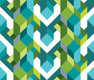 Fresh geometric theme of pattern Stock Image
