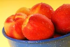 Fresh Georgia peaches Royalty Free Stock Photo