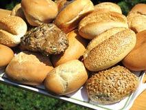Fresh german bread rolls Stock Images