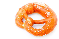 Fresh German pretzel (Bretzel) Stock Images