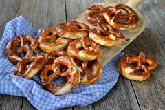 Fresh German pretzels Royalty Free Stock Photos