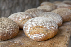 Fresh German wood oven bread Stock Photo