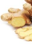 Fresh ginger Royalty Free Stock Images