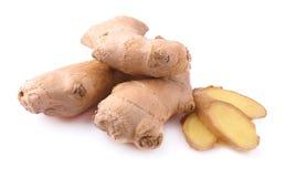 Fresh ginger  isolated Stock Photo