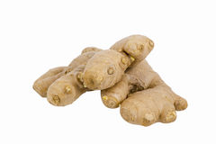 Fresh ginger isolated Royalty Free Stock Photos